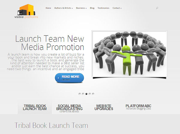 Website Design / Launch | Visible Platforms Social Marketers